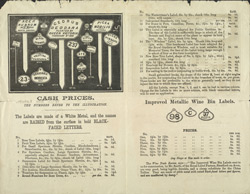 Advert For John Smith, Royal Label Manufacturer reverse